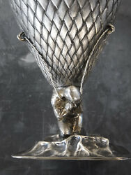 UNIQUE Turkish Designer 90% Silver Art Sculpture by Orgu