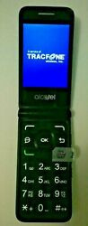 Tracfone Alcatel MYFLIP A405DL Prepaid Activated w SIM 90 Day Serv..