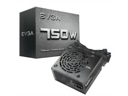 EVGA Power Supply 100 N1 0750 L1 750W 12V 120mm Sleeve Bearing Fan ATX Cable $82.99