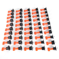 50x Flat Ceramic Floor Wall Construction Tools Tile Leveling System Kit Reusable