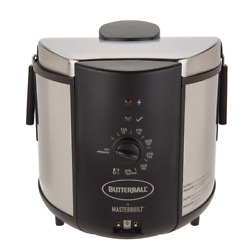 Butterball 5 Liter Stainless Steel Electric Indoor Turkey Fryer