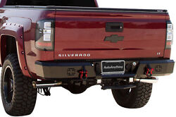Iron Cross 21-525-07 2007-2010 SILVERADOGMC HD REAR BUMPER