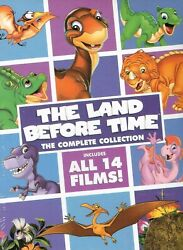 The Land Before Time: The Complete Collection 8 DVD  Box Set New Free Shipping