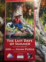Puzzle- The Last Days Of Summer - 300 Pcs. - By Artist Jack Sorenson $16.50