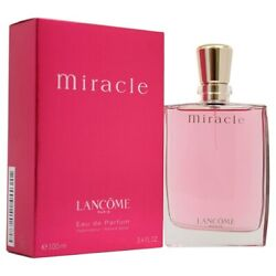 Lancome Miracle For Women Perfume 3.4 Ounce 100 ml EDP Spray $88.95