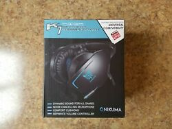 ONIKUMA K7 3.5mm Gaming Headset MIC 3D Surround Stereo Headphone for PC PS4 XBOX