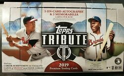 2019 TOPPS TRIBUTE BASE SINGLES #1-90 - YOU PICK & COMPLETE UR SET