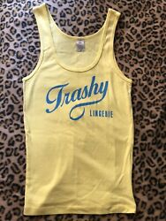 exotic TRASHY LINGERIE tank top shirt HOLLYWOOD Los Angeles - size M
