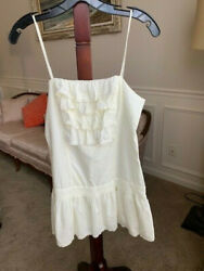 Juicy couture White dress cotton summer beach small girl