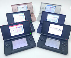 Nintendo DS Lite Pick Your Color Tested amp; Working Pink Blue Red Black