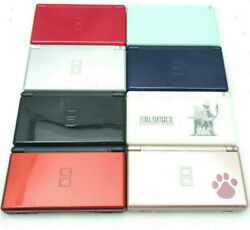 Nintendo DS Lite Console Pick Your Color Tested amp; Working Blue Red Black $67.99
