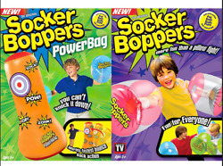 Socker Boppers Combo Pack with Power Bag ~ Free Shipping