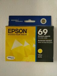 New Epson 69T069420  Yellow Ink Cartridge $1.99