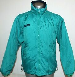 Womens Columbia Ski Jacket liner Isolated Green Outdoor Trekking Snow Size L GBP 22.00