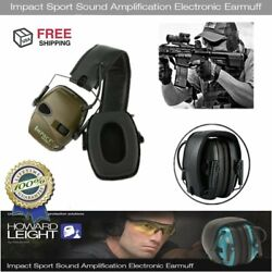 Howard Leight R-01526 Impact Sport Electronic Earmuff Shooting Ear Protection HB