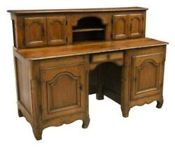 Antique Desk Writing Rare Fruitwood Bureau A Gradin Beautiful $1819.00