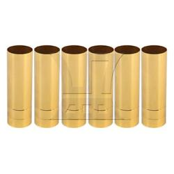 6x Candle Covers Sleeves Crystal Chandelier Socket Cover 25*80mm Gold $11.89