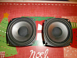 PAIR  MIRAGE  AVS  200100   WOOFERS  (3 12