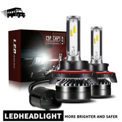 H13 LED Headlight Bulbs For Dodge Ram 1500 2500 3500 2006-2012 High Low Beam LXD