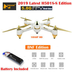 Hubsan H501S S PRO Drone 5.8G FPV Brushless 1080P Camera Quadcopter GPS RTH BNF $129.00