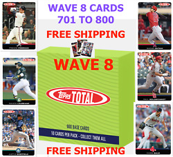 2019 Topps Total - Wave 8 YOU PICK CARDS FINISH SET - OTHANI - SALE - FREEMAN