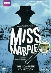 Miss Marple: The Complete Collection  9 DVD  Box Set New Free Shipping