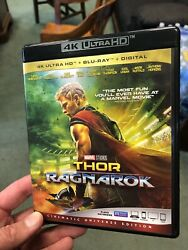 Thor: Ragnarok (4kBlu-ray)..READ DESCRIPTION....