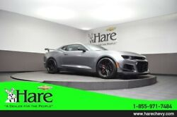 2019 Chevrolet Camaro ZL1 2019 Chevrolet Camaro ZL1 8 Miles Steel Gray Metallic 2D Coupe 6.2L V8 Superch