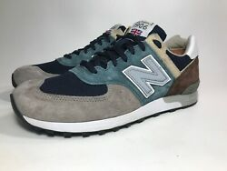 NEW BALANCE M576SP 'SURPLUS PACK Made IN ENGLAND TEAL & GREY MENS 10D EU44 ((a4