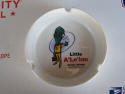 VINTAGE Little A'Le'Inn Rachel Nevada Ashtray Alien Rooms Beds Restaurant