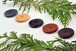 UGG button replacement wooden for UGG boots Beige Black Brown Gray Dark brown