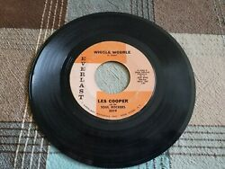 R&B Soul LES COOPER AND THE SOUL ROCKERS 45 rpm DIG YOURSELF & WIGGLE WOBBLE