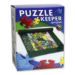 Springbok Jigsaw Puzzle Keeper - Roll Up Felt Mat