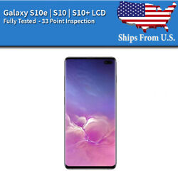 Samsung Galaxy: S10E S10 S10 Plus LCD Replacement Screen Digitizer Frame A $238.88