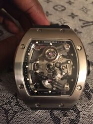 Richard Mille High Grade Limited Edition RM 038 BlackSilver Flyback