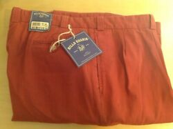 BILL'S KHAKIS M1P New Old Stock Weathered Canvas Pants - Antique Red - 44 Waist