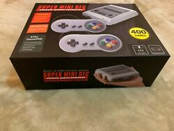 Classic Mini Console with 400 8bit Built-in Retro Games 2 Controllers AV NEW
