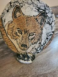 Ceramics Collectables Shapes Of Clay quot;Endangered Speciesquot; signed labeled ceramic $6.99