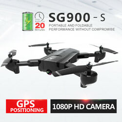 SG900 S GPS Drone Wifi FPV Follow Me Altitude Hold Foldable RC Quadcopter M5O9 $83.36