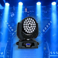 36 x10w Zoom RGBW 4in1 Led Moving Head Light 360w Dmx 17ch Par Stage Party DE