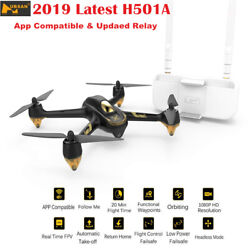 Hubsan H501A PRO Wifi Quadcopter Brushless FPV 1080P GPS Waypoint Drone Relay $110.00