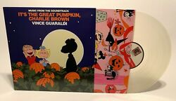 It's The Great Pumpkin Charlie Brown Exclusive Yellow Moon Colored Vinyl Sealed