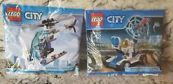 Lego City 30315 and 30351
