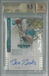 2014 PANINI CONTENDERS ROOKIE TICKET BLAKE BORTLES RC AUTO #238A BGS 9.510!!