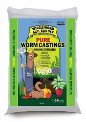 Wiggle Worm Soil Builder Earthworm Castings Organic Fertilizer 15 lb. $21.59