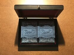 Devastation Silver Edition Signature Deck Set with Wooden Display Box New Rare