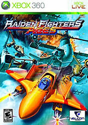 Raiden Fighters Aces Microsoft Xbox 360 2009 shooter schump LIVE works tested