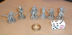 2003 Lord of the Rings Monopoly Game Replacement Pieces: Tokens Ring