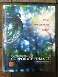 Fundamentals of Corporate Finance 11e by Jordan Westerfield And Ross