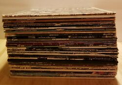 Huge Lot Of Rock Vinyl LP Albums Zeppelin Kiss Stones Springsteen Dylan Doors